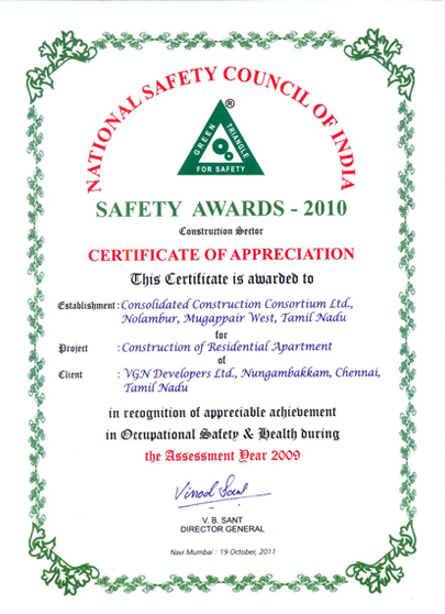 Welcome to cccl safety award certificate for vgn minerva yadclub Gallery